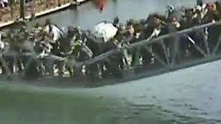 China bridge collapse caught on camera - no comment