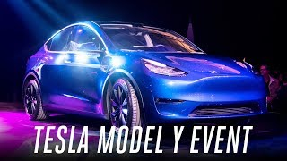 Tesla Model Y event in 3 minutes