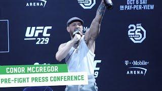 Conor McGregor Full Las Vegas Press Conference || UFC 229