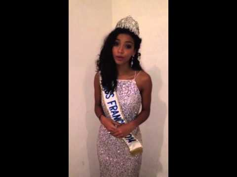 Miss France 2014, Confirme sa présence a Miss Cameroun 2015