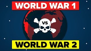 World War 1 VS World War 2 - How Do They Compare?