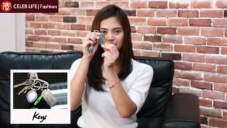 PEP RAID: Bianca Umali shows what's inside her bag