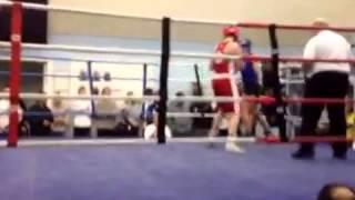 Jo van den Berg 1st ABA Female Boxing TKO