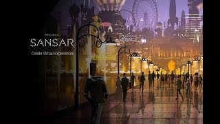 Exploring The World(s) Of SANSAR In Virtual Reality!