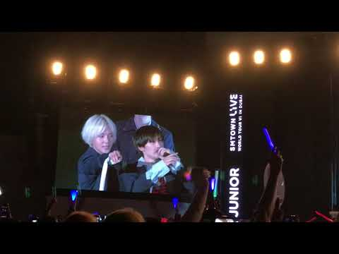 Super Junior SM Town Live in Dubai - Member's Introduction