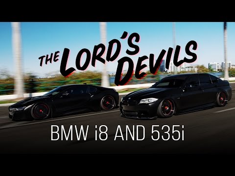 BMW i8 and 535i | The Lord's Devils