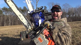 TESTING THE CHEAPEST COMMERCIAL CHAINSAW ON EARTH!! STIHL, HUSQVARNA CLONE!!