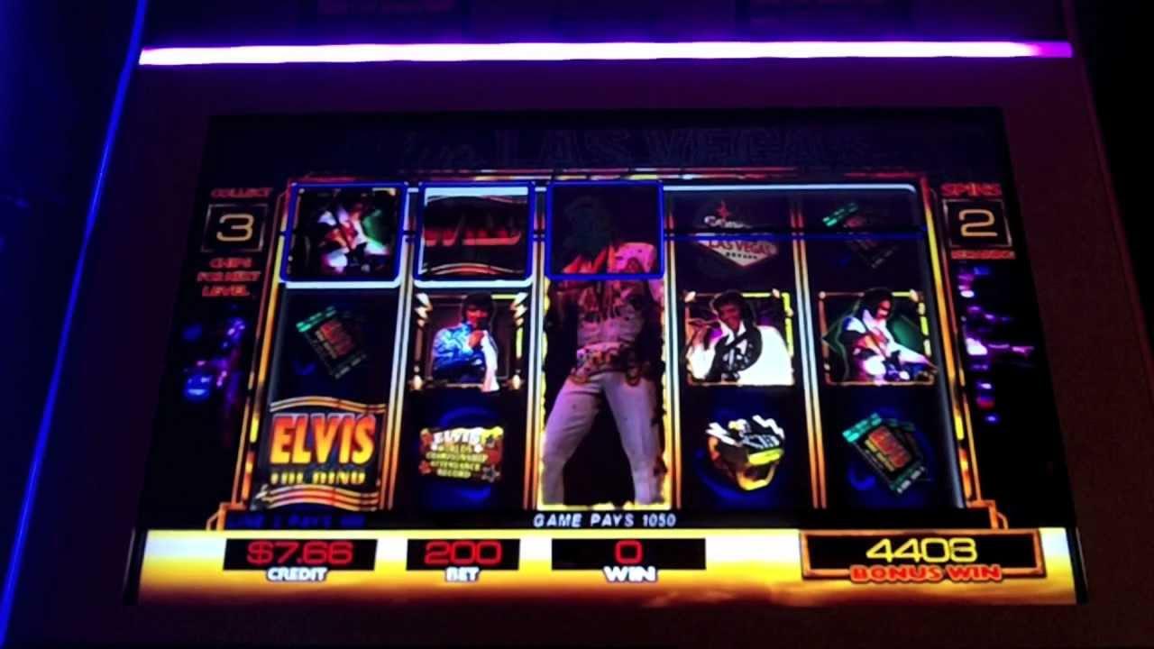 Slot machine elvis