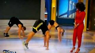 Shaun T. Does Insanity on the Tyra Banks Show