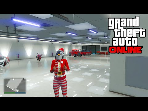 GTA 5 Online - 30 CAR GARAGE MAXIMUM APARTMENTS SECRET UPDATE! (GTA Festive Surprise Update)
