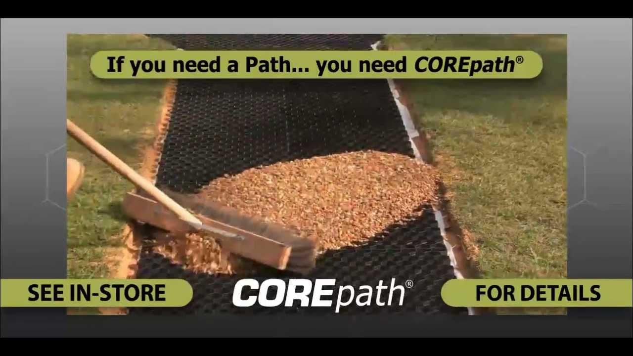 Corepath Self Install The Perfect Gravel Pathway Youtube