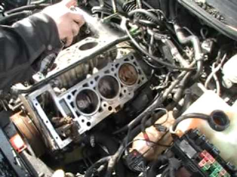 Head Gaskets On A 2 7 Dodge Intrepid Engine 016 Mod Youtube