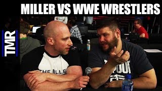 WWE Wrestlers vs Miller At WrestleMania