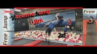 Trampolinhalle Ulm Xtreme Jump   FunClip