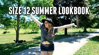 SIZE 12 SUMMER LOOKBOOK: Minimalist Wardrobe