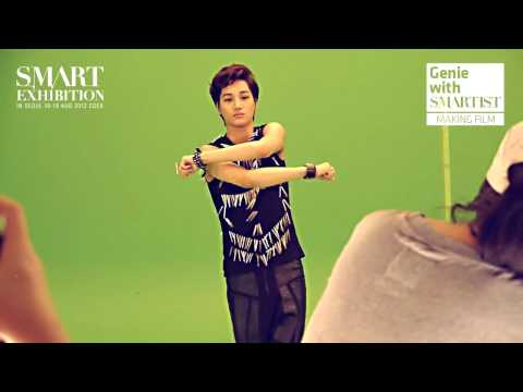 120903 Genie with SMARTIST Making Film - EXO (1)