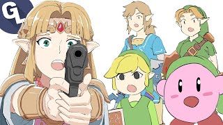 Can Zelda Spot the Fake Link?