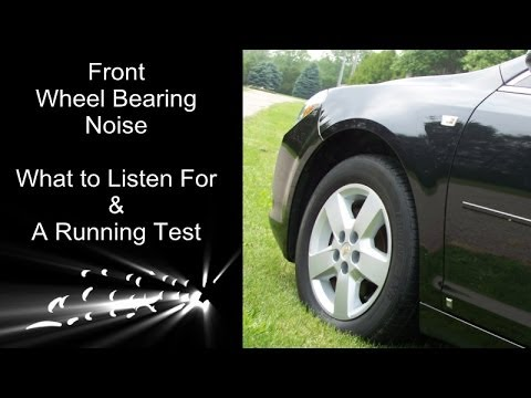 Front Wheel Bearing Noise Explained And A Running Test