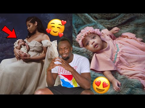 Usain Bolt shares first pics of his daughter