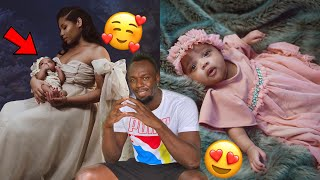 Usain Bolt shares first pics of his daughter..