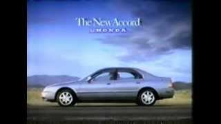 1993 Honda Accord commercial