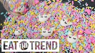 DIY Unicorn Sprinkles With Kawaii Sweet World | Eat the Trend