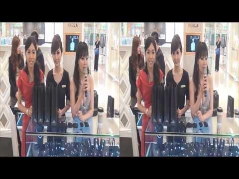 20130628 翁滋蔓 細微鑲嵌奢華戀曲一日店長活動 第三段 台中大遠百3F PAULA專櫃 3/3 3D Ver.