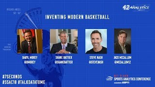 SSAC18: Inventing Modern Basketball