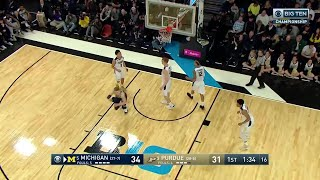 Michigan vs. Purdue: 2018 Big Ten Men's Basketball Tournament Highlights