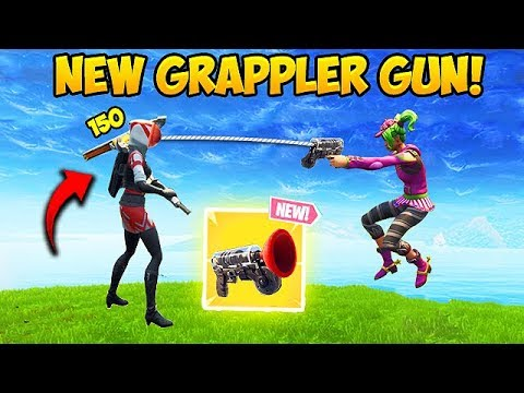 *NEW* GRAPPLER GUN IS INSANE! - Fortnite Funny Fails and WTF Moments! #310