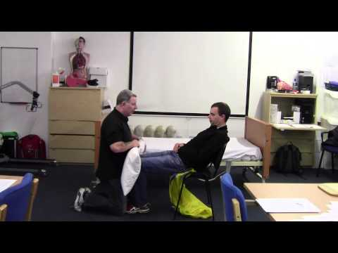 Reposition In A Chair - Patient Moving & Handling