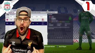 INSANE $40,000,000 STAR GK SIGNING? - FIFA 18 LIVERPOOL CAREER MODE #01