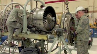F-16 Jet Engine Shop - Foreign Object Damage Repair