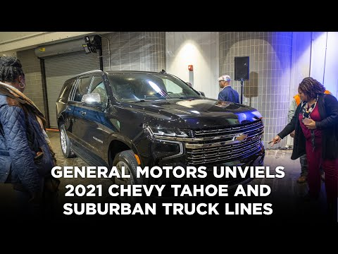 General Motors takes wraps off next-generation, Texas-made Chevy Tahoe and Suburban SUVs