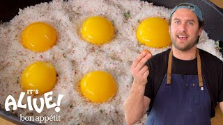 Brad Makes Cured Egg Yolks | It's Alive | Bon Appétit