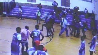 Brawl at N.J. middle school basketball game