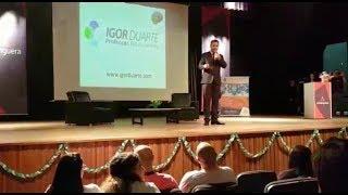 Neurocientista Dr. Igor Duarte. Palestra Guerra dos cérebros