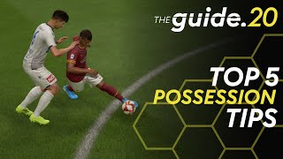 5 Tips to STOP LOSING Ball Possession in FIFA 20 - Possession Tutorial | Improve Build-up Play
