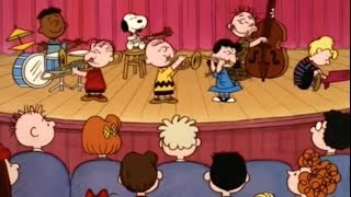 Peanuts Gang Singing