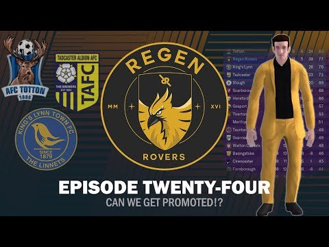 Regen Rovers | Episode 24 - Can We Get Promoted!? | Football Manager 2019