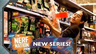 NERF FEST Blaster Battle @ Walmart!!  🛒 w/ Zach King & Dom Fera   The NERF Nation Show Episode 5