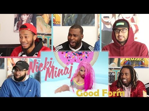 Nicki Minaj - Good Form ft. Lil Wayne REACTION