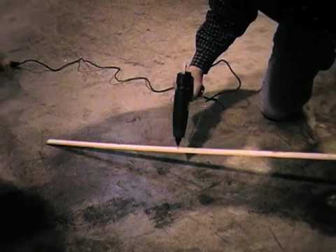 Carpet Tack Strip Installation With Hot Melt Adhesive