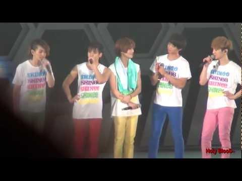 120602 TOKYO ENDING SHINee TALK