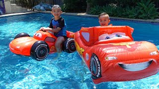 Lightning McQueen Inflatable Pool Fun Childrens Playtime Ckn Toys