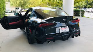 2020 Toyota Supra Launch Edition Review and Start-up