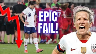 US Women's Soccer And Megan Rapinoe Get UPSET! | Shocking And EMBARRASSING Loss To Canada!