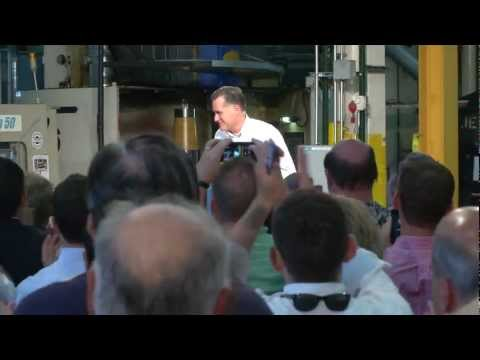 Mitt Romney highlights of visit to Acme