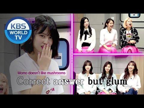 Idol Master - TWICE Part2 [KBS World Idol Show K-RUSH3 / ENG,CHN / 2018.05.04]