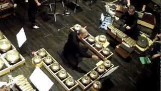 Evergreen Club Contemporary Gamelan - In Between (2008: 17min.) for gamelan (degung) and string quartet composed by Ana Sokolovic perf. by Evergreen Club Contemporary Gamelan & Quatuor Bozzini, recorded in concert at Chapelle historique de Bon Pasteur, Montréal, April 18, 2012. http://www.you